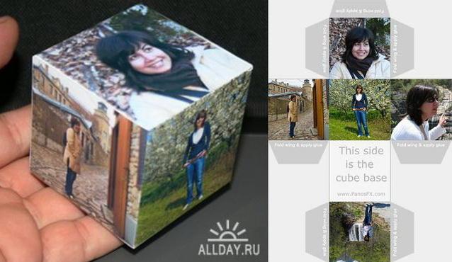 Кубики из фотографий своими руками 77